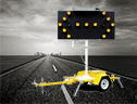 Bartco's Directional Arrow Boards - manufacturer of Variable Message Signs, Traffic Signs and Fire Danger Rating Signs.