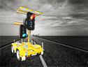 Bartco's Portable Traffic Signal - manufacturer of Variable Message Signs, Traffic Signs and Fire Danger Rating Signs.