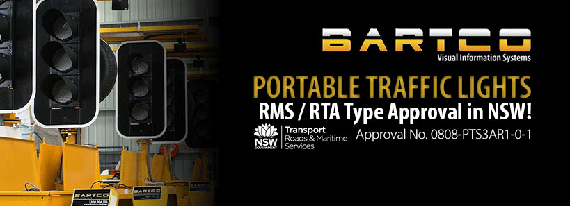 BARTCO - RMS Type Approval for NSW